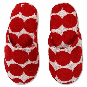 Marimekko Rasymatto Red / White Slippers