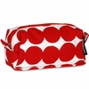 Marimekko Rasymatto Red / White Taimi Cosmetic Bag