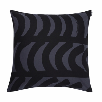 Black Throw Pillows For Bed : Marimekko Rautasnky Black Throw Pillow - Marimekko Bed & Bath Sale