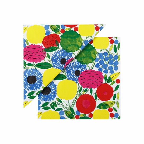 Marimekko Sitruunapuu Multicolor Cocktail Napkins