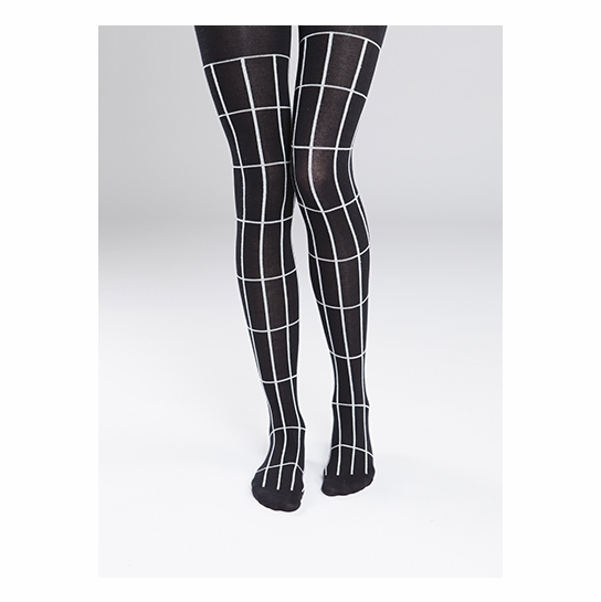 Marimekko Tellis Black/White Tights