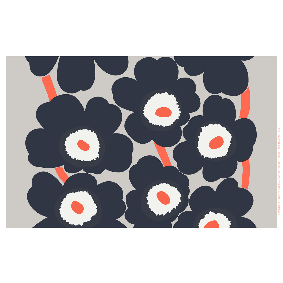 puppy curtain aarnio eero by marimekko curtains orange siirtolapuutarha pin