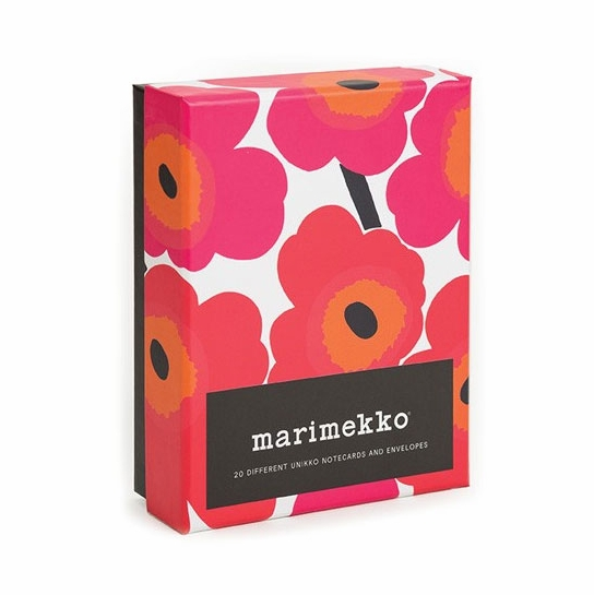 Marimekko Unikko Note Cards with Envelopes