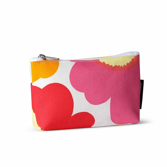 Marimekko Unikko Orange / Pink Eevi Cosmetic Bag