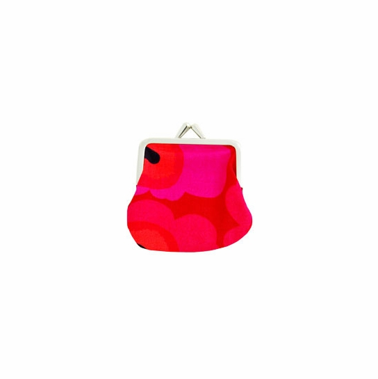 Marimekko Unikko Red Mini Coin Purse