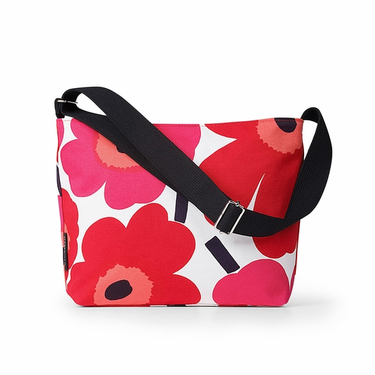 Marimekko Unikko Red Mini Osma Shoulder Bag
