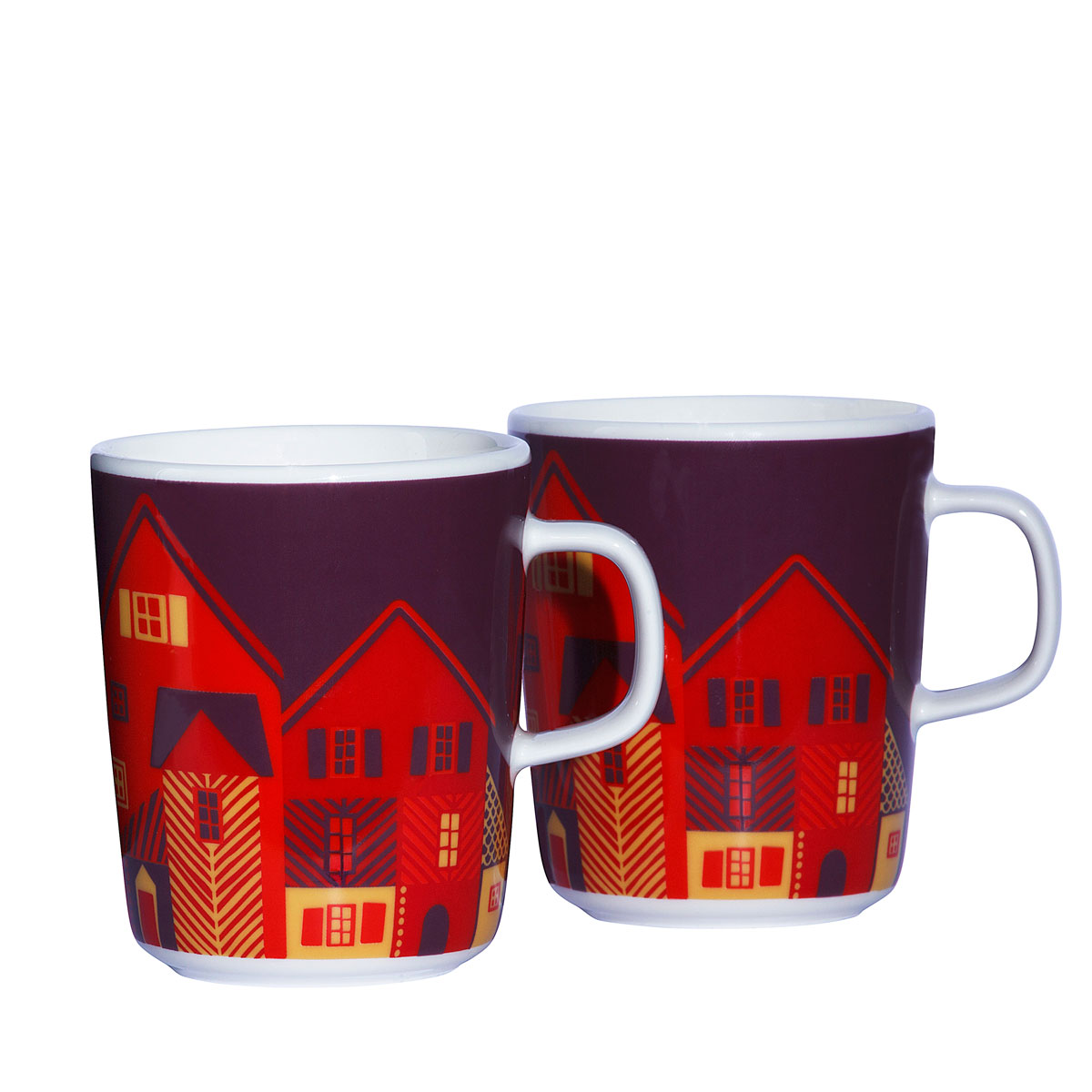 marimekko vanhakaupunki mug set marimekko kitchen dining sale. Black Bedroom Furniture Sets. Home Design Ideas