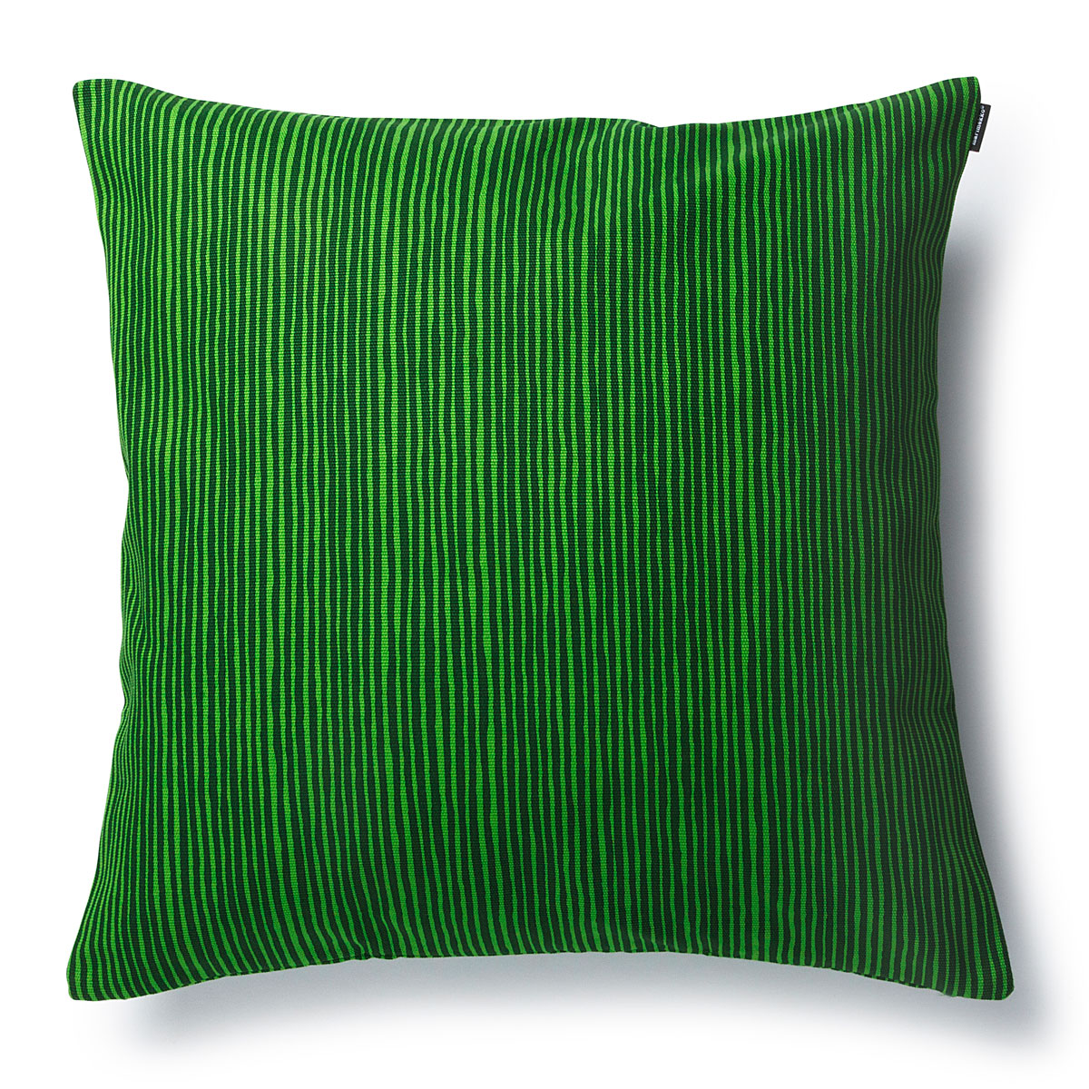 marimekko varvunraita green throw pillow  holiday home accents - marimekko varvunraita green throw pillow