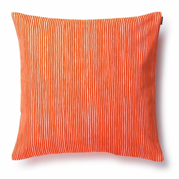 Orange Throw Pillows For Bed : Marimekko Varvunraita Orange Throw Pillow - Marimekko Bed & Bath Sale