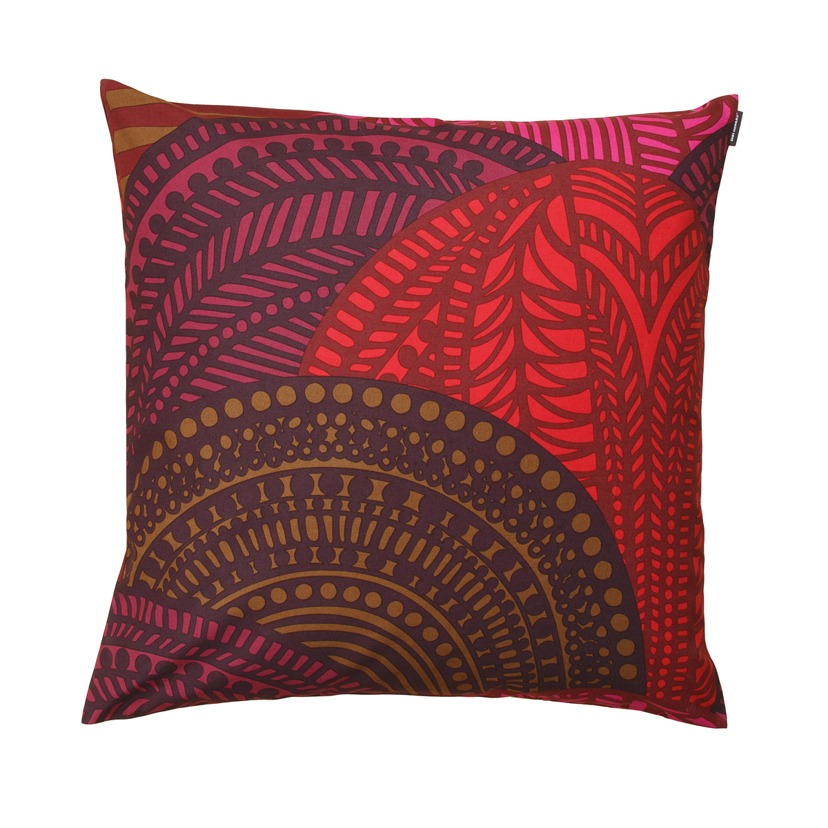 Throw Pillow Red : Marimekko Vuorilaakso Red Throw Pillow - Marimekko Throw Pillows & Blankets
