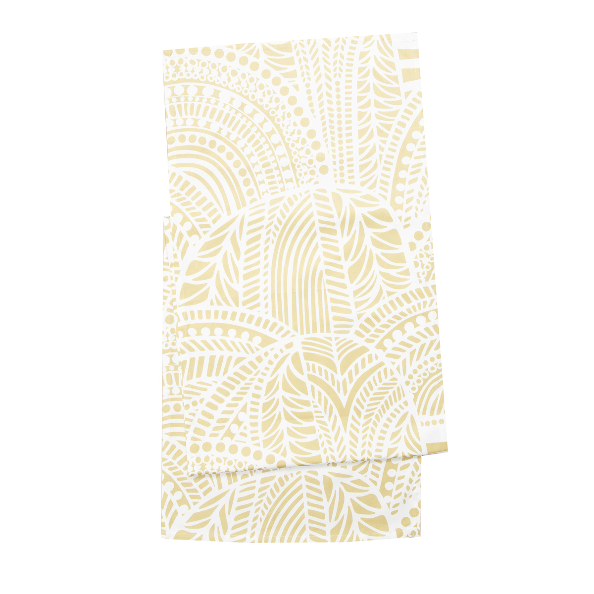 Marimekko Vuorilaakso White Gold Table Runner Table Runners