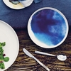 Marimekko Weather Diary Blue/White Dinner Plate