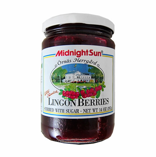 Midnight Sun Lingonberries in Sugar
