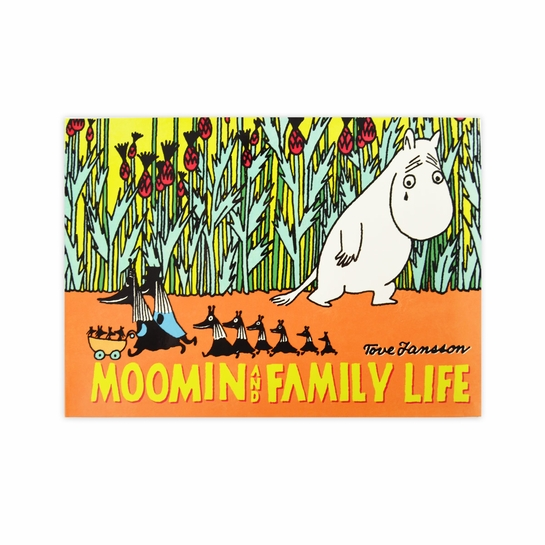 Moomin And Family Life Book