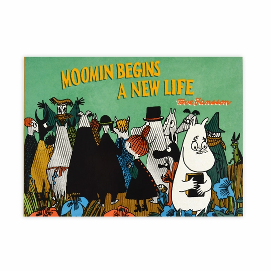 Moomin Begins a New Life Book