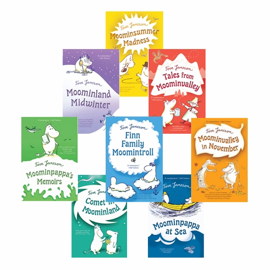 Moomin Books - Set of 8