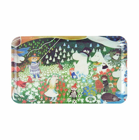 Moomin Dangerous Journey Large Tray