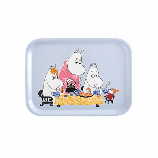 Moomin Teaparty Blue Small Tray