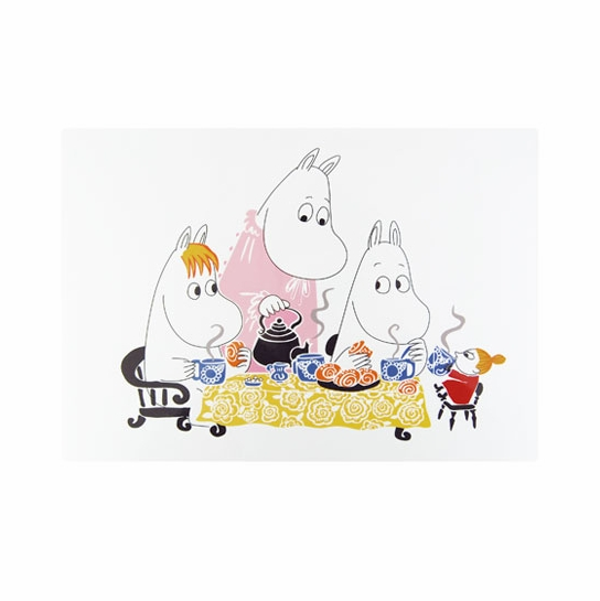 Moomin Teaparty White Placemat