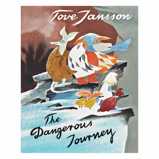 Moomin The Dangerous Journey Hardcover Book
