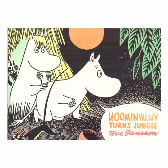 Moominvalley Turns Jungle Book