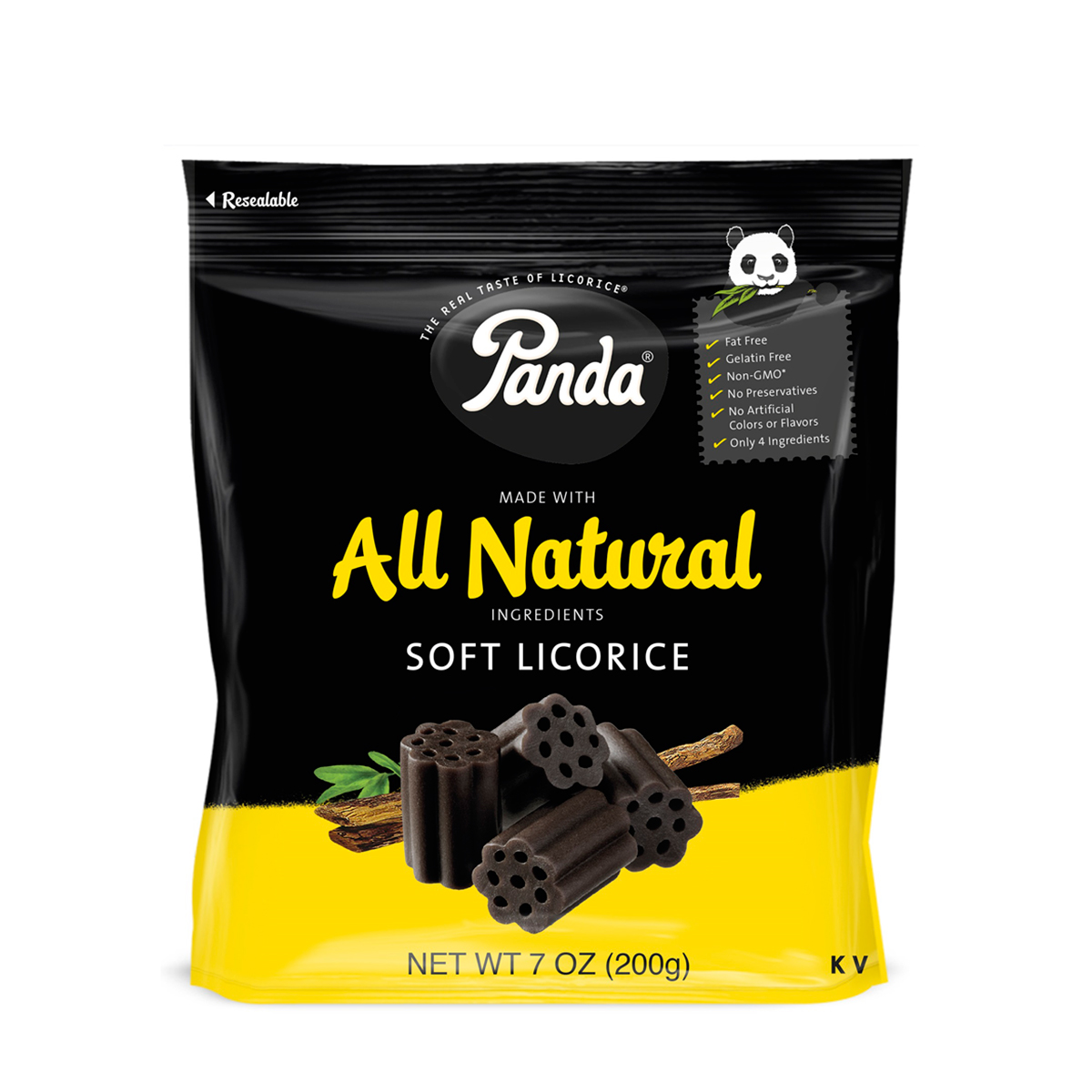 Best Valentine S Day Gifts For Him Panda Black Licorice Bag 7 Oz Unique Gifts For Him