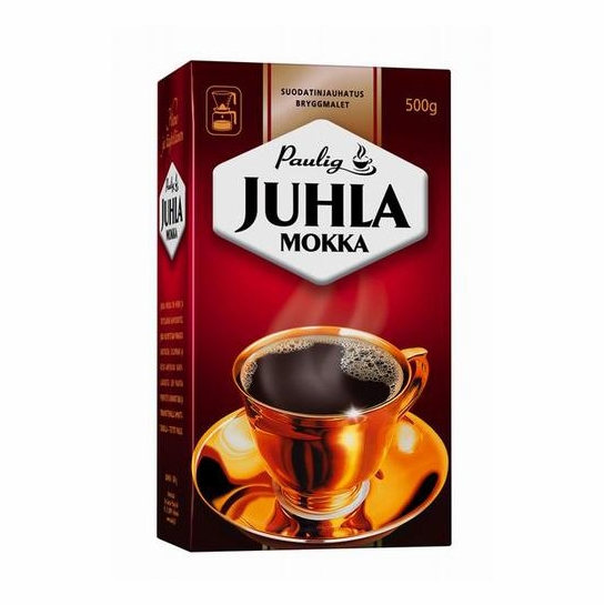 Paulig Juhla Mokka Coffee - Light Roast