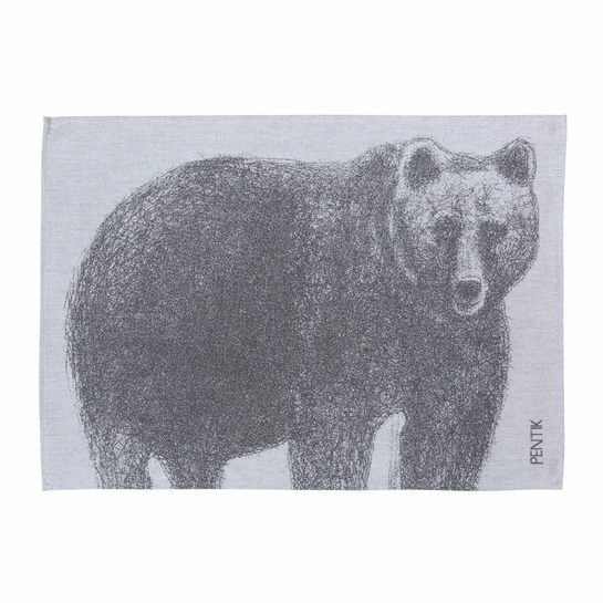 Pentik Fauna Bear Tea Towel