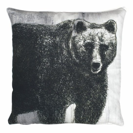 Pentik Fauna Bear Throw Pillow