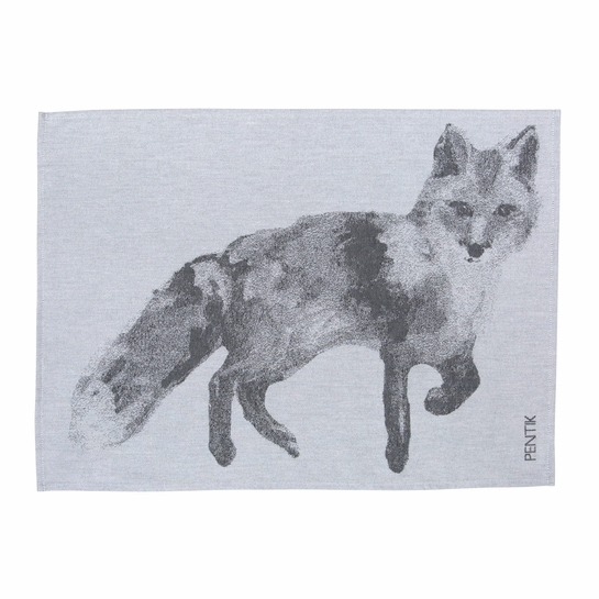 Pentik Fauna Fox Tea Towel