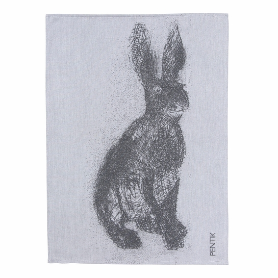 Pentik Fauna Rabbit Kitchen Towel