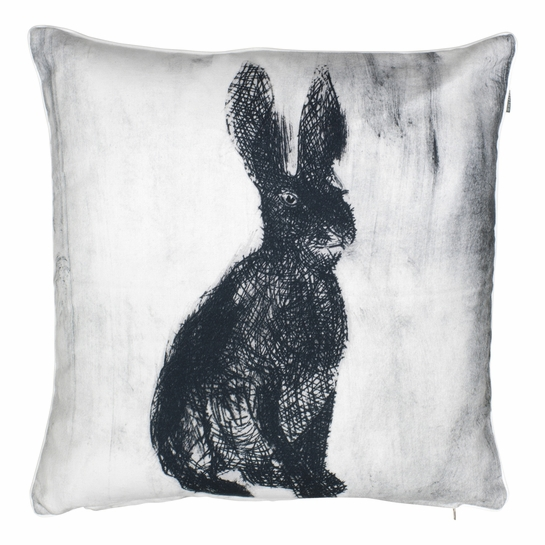 Pentik Fauna Rabbit Throw Pillow