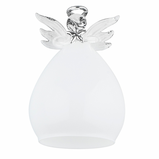 Pentik Enkeli (Angel) Large Glass Ornament / Tree Topper