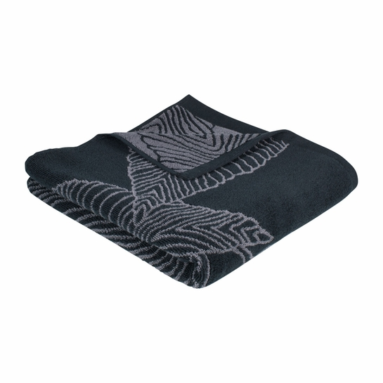 Pentik Lehto Black Bath Towel