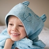 Pentik Nallukka Blue Hooded Terry Towel