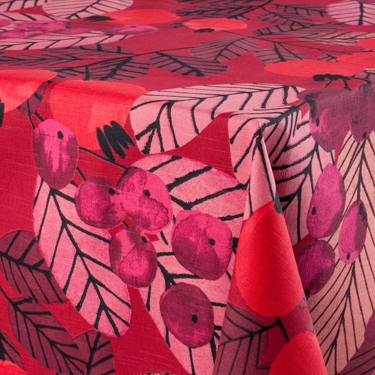 Pentik Ruusunmarja (Rose Hip) Red Tablecloth