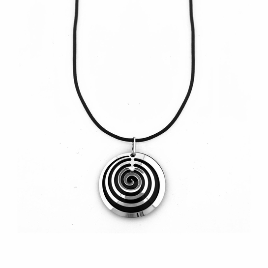 Pohjolan Helmi Avery Black Necklace