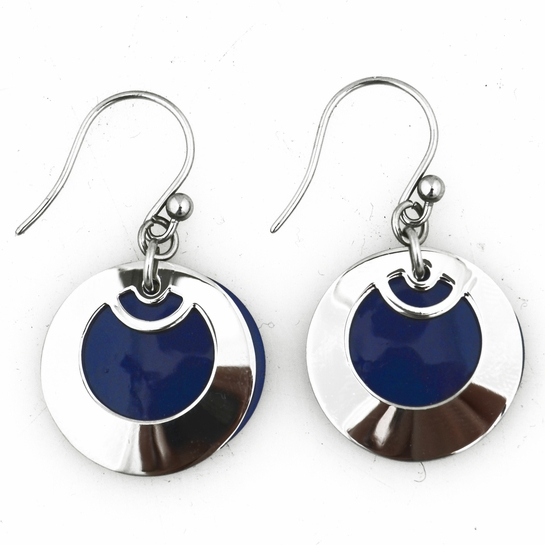 Pohjolan Helmi Blueberry Earrings