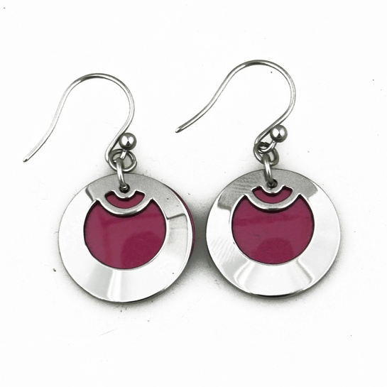 Pohjolan Helmi Lingonberry Earrings