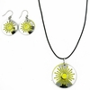 Pohjolan Helmi Yellow Sun Earrings