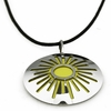 Pohjolan Helmi Yellow Sun Necklace