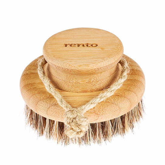 Rento Natural Bamboo Body Brush