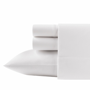 Solid White Queen Sheet Set