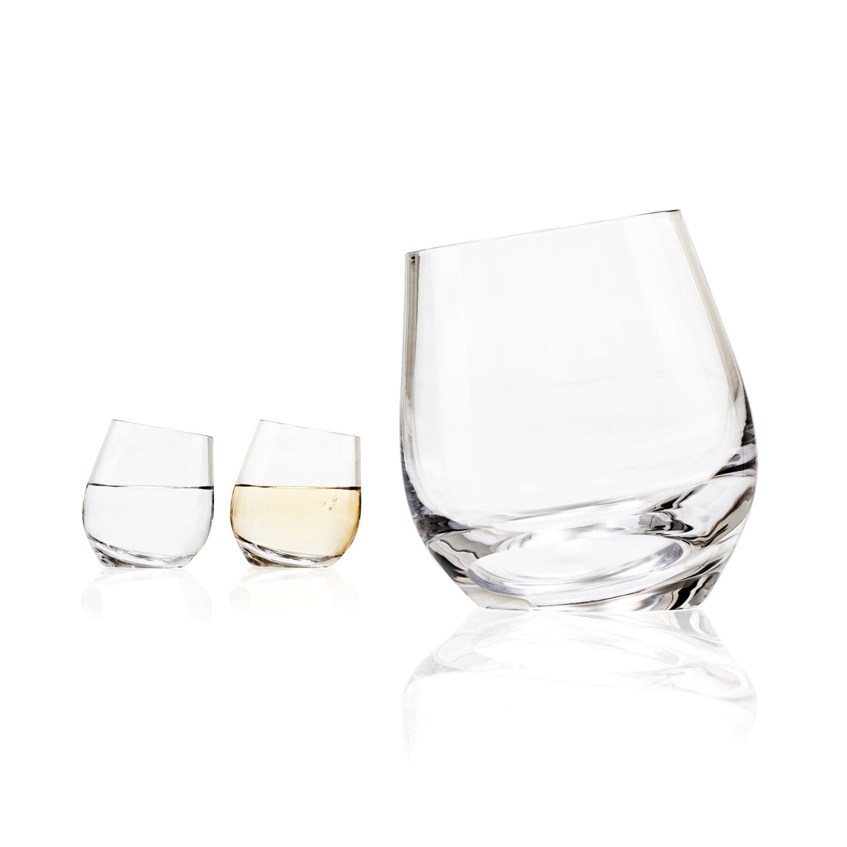tonfisk shadow white wine water drinking glass set of