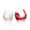Tonfisk Shadow White Wine / Water Drinking Glass - Set of 2