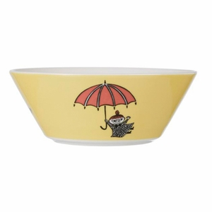 Yellow Moomin Bowl - Little My - Click to enlarge