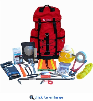 1-Person Search & Rescue Backpack Kit
