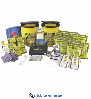 10 Person Deluxe Office Emergency Kit
