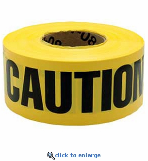 1000' Yellow Caution Tape