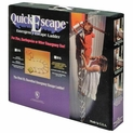 12' QuickEscape Fire Escape Ladder - With Sleeves